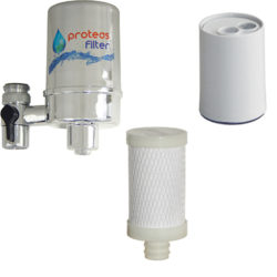 Faucet Water Filters and Filter Catridges