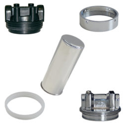 Spare Parts for Metallic Filter Housings for Central Water Supply