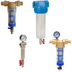 Self-cleaning Water Filters