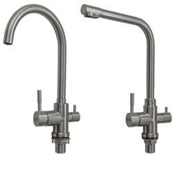 Stainless Steel 3-way Faucets