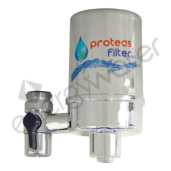 Chrome plated faucet filter Proteas