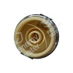Βάση επιχρωμιωμένη 1/4″ (είσοδος-έξοδος) για μεταλλική συσκευή άνω πάγκου