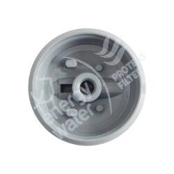 Κάτω βάση 1/4″ (είσοδος-έξοδος) για συσκευή άνω πάγκου slim line πλαστική