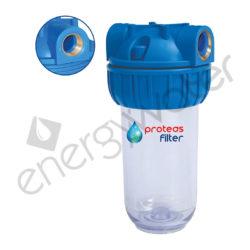 Single filter housing 3P 7″ - 3/4″