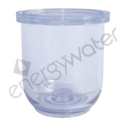 Clear sump 5″ for 3P filter housing