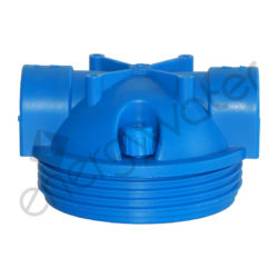 Head for filter housing 3P STRONG 10″ - 1/2″ inlet-outlet