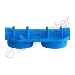 Διπλή κεφαλή compact για φιλτροθήκη κεντρικής παροχής STRONG 10″ - 3/4″ είσοδο-έξοδο