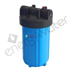 Φιλτροθήκη Big Blue 10″ - 1″ με πλαστικό σπείρωμα - σκέτη