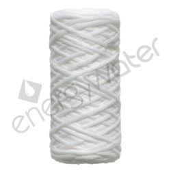 Polypropylene yarn filter cartridge Proteas 5″ - 1μm