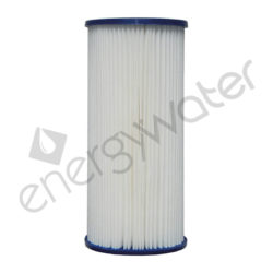 Pleated polyester filter cartridge Big Blue 10″ - 5μm