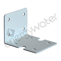 Single metal mounting bracket for filter housing 2P 20″ slim