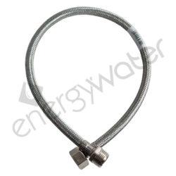 Inox hose 60cm 1/2″ M - 1/2″ F