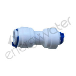 Straight plastic fitting 4x6 tube QC - 4x6 tube QC