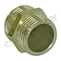 Brass connector 1 1/2″ male thread