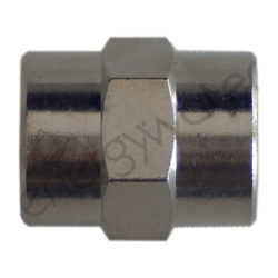 Chrome plated brass pipe fitting 1/4″