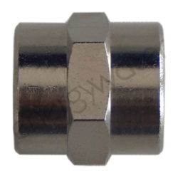 Chrome plated brass pipe fitting 3/8″