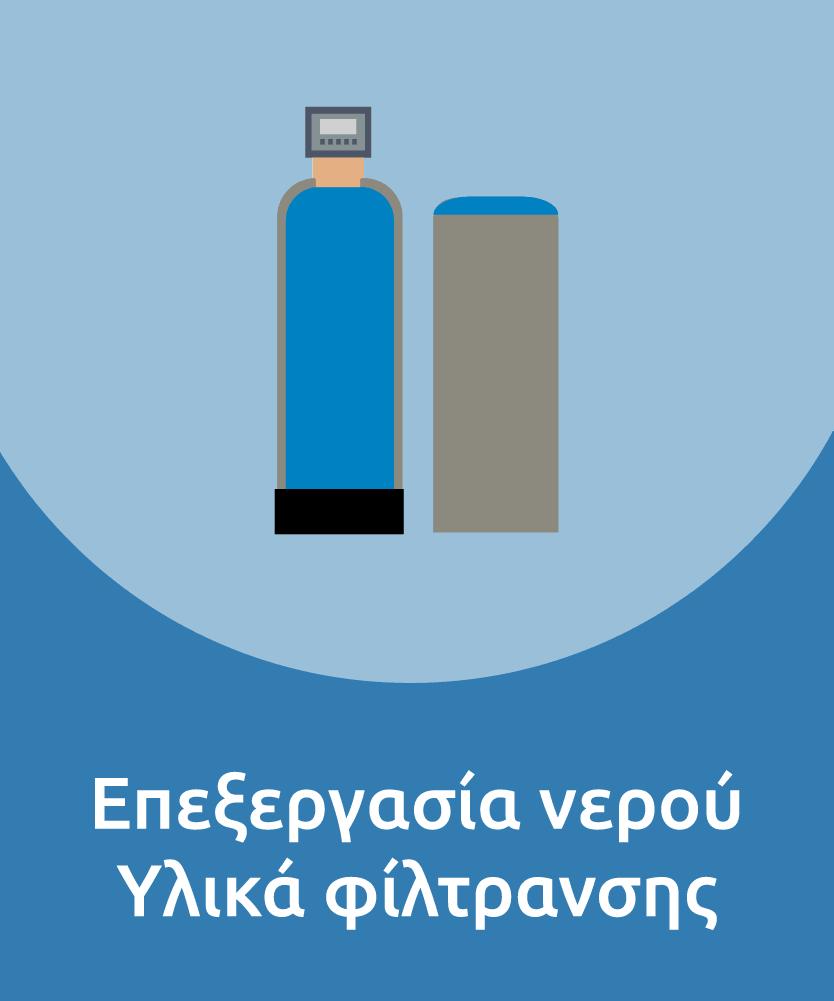 Επεξεργασία νερού / Υλικά φόιλτρανσης