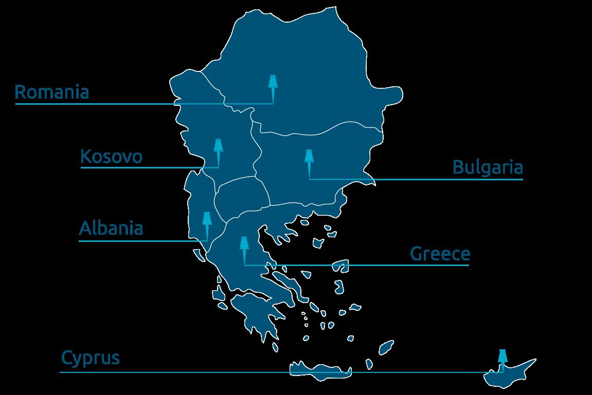 Company activity map